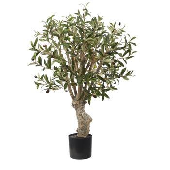 2 Olive Artificial Tree - SKU #T1525