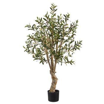 3.5 Olive Artificial Tree - SKU #T1526