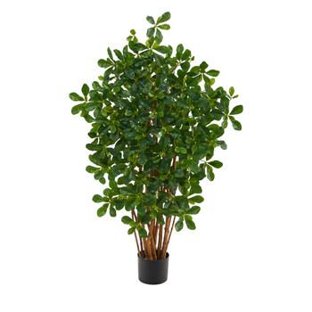 3.5 Black Olive Artificial Tree - SKU #T1528