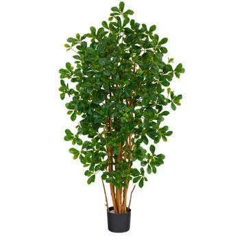 4.5 Black Olive Artificial Tree - SKU #T1529