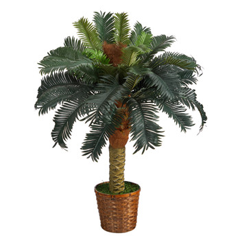 3 Sago Palm Artificial Tree - SKU #T1533