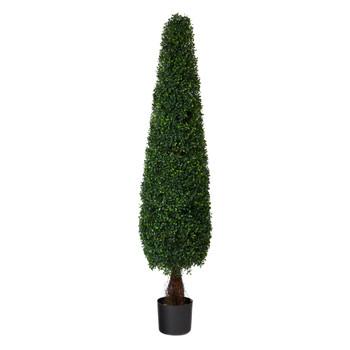 5 Boxwood Topiary Artificial Tree UV Resistant Indoor/Outdoor - SKU #T1543
