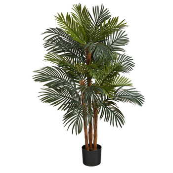 4 Robellini Palm Artificial Tree - SKU #T1545