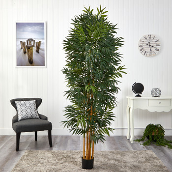 6.5 Phoenix Palm Artificial tree with Natural Trunk - SKU #T1548