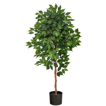 4 Ficus Artificial Tree - SKU #T1579