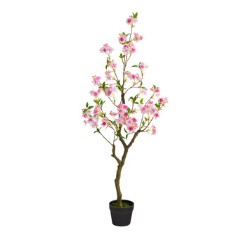4 Cherry Blossom Artificial Plant - SKU #T1700