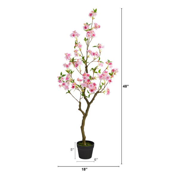 4 Cherry Blossom Artificial Plant - SKU #T1700 - 1