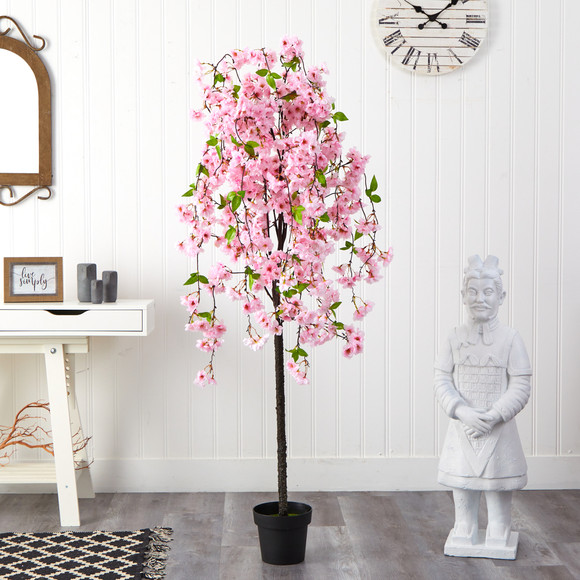 5 Cherry Blossom Artificial Tree - SKU #T1701 - 2