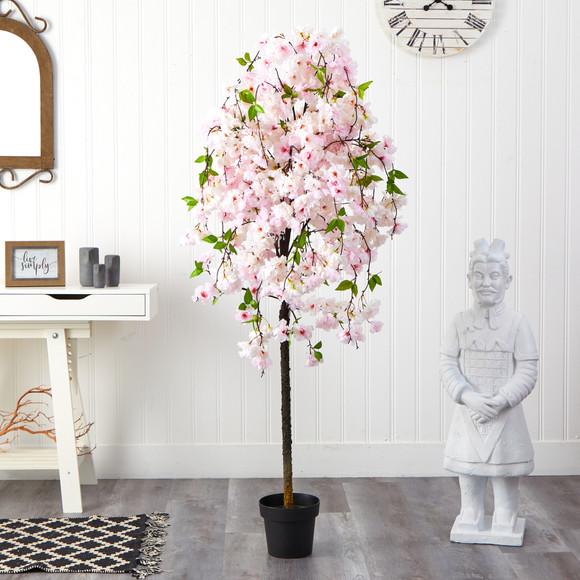 5 Cherry Blossom Artificial Tree - SKU #T1702 - 2