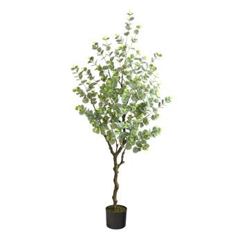 4.5 Eucalyptus Artificial Tree - SKU #T1703