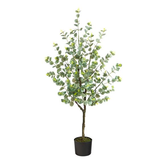 4 Eucalyptus Artificial Tree - SKU #T1704
