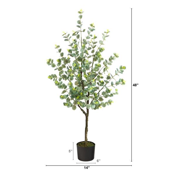 4 Eucalyptus Artificial Tree - SKU #T1704 - 1