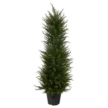 2.5 Cypress Artificial Tree UV Resistant Indoor/Outdoor - SKU #T1706