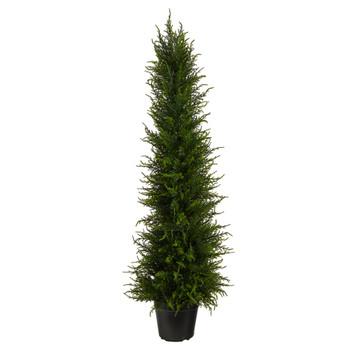 3.5 Cypress Artificial Tree UV Resistant Indoor/Outdoor - SKU #T1707
