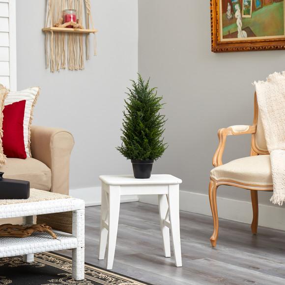 18 Cedar Artificial Tree with LED Lights UV Resistant Indoor/Outdoor - SKU #T1710 - 6