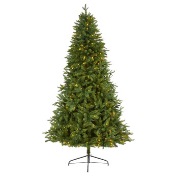 7 New Hampshire Fir Artificial Christmas Tree with 450 Clear LED Lights - SKU #T1780