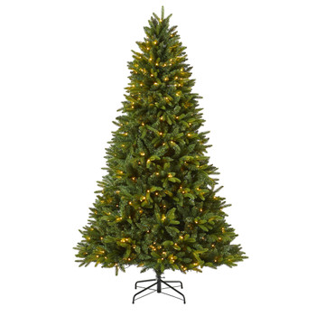 7 Sun Valley Fir Artificial Christmas Tree with 450 LED Lights - SKU #T1786