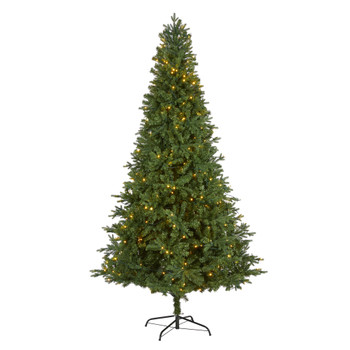8 Vermont Fir Artificial Christmas Tree with 450 Clear LED Lights - SKU #T1791