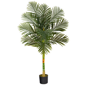 5 Golden Cane Artificial Palm Tree - SKU #T1838