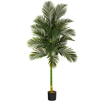 7 Golden Cane Artificial Palm Tree - SKU #T1840