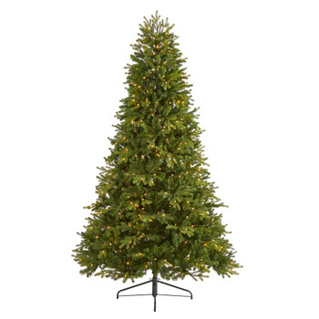 7.5 Washington Fir Artificial Christmas Tree with 600 Clear Lights and 1610 Bendable Branches - SKU #T1853