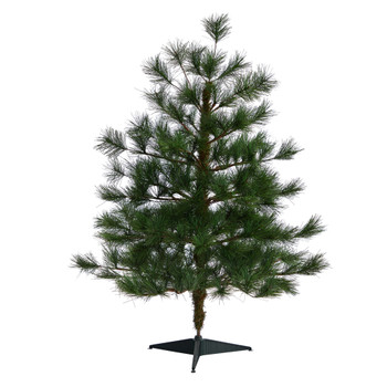 3 Yukon Mixed Pine Artificial Christmas Tree with 213 Bendable Branches - SKU #T1931
