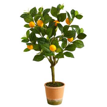 24 Lemon Artificial Tree - SKU #T1957
