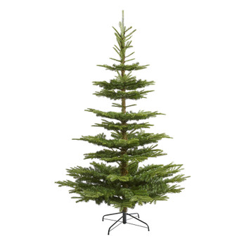 7.5 Layered Washington Spruce Artificial Christmas Tree with and 1325 Bendable Branches - SKU #T2007