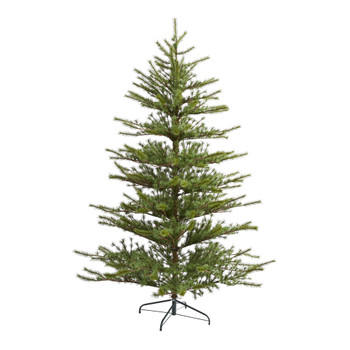 7 Vancouver Mountain Pine Artificial Christmas Tree with 374 Bendable Branches - SKU #T2012