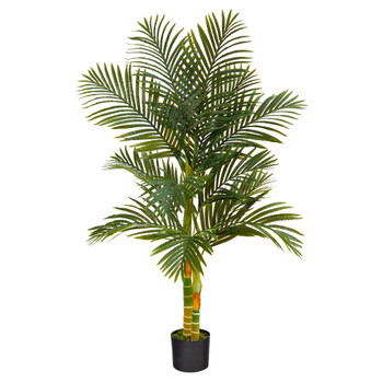 5 Golden Cane Artificial Palm Tree - SKU #T2018
