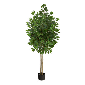 64 Ficus Artificial Tree UV Resistant Indoor/Outdoor - SKU #T2038