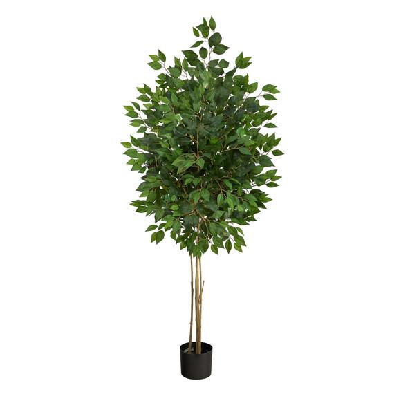 64 Ficus Artificial Tree UV Resistant Indoor/Outdoor - SKU #T2038