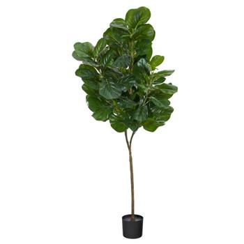 6 Fiddle Leaf Fig Artificial Tree - SKU #T2105