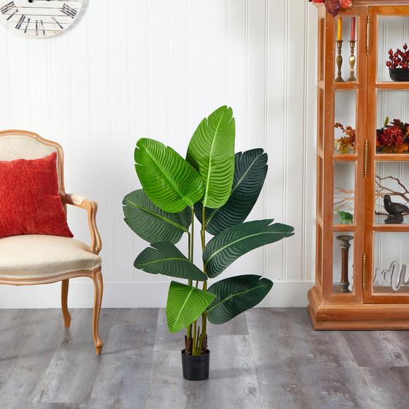 3.5 Travelers Palm Artificial Tree - SKU #T2108 - 2