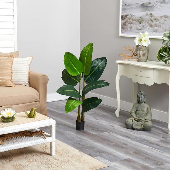 3.5 Travelers Palm Artificial Tree - SKU #T2108 - 3