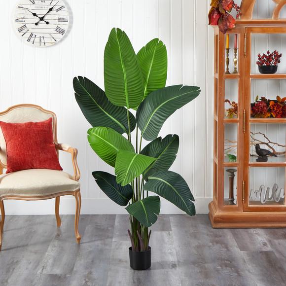 5 Travelers Palm Artificial Tree - SKU #T2109 - 2