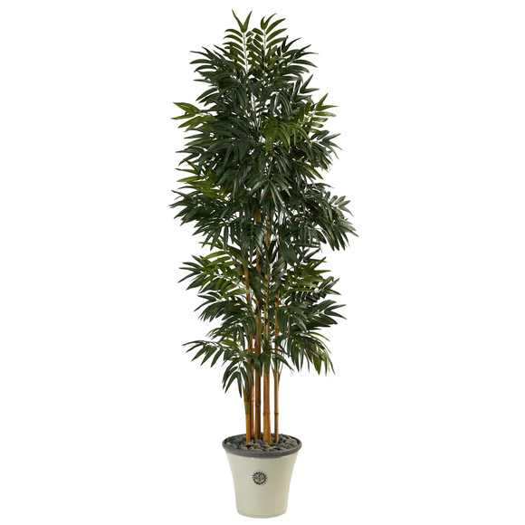 6 Phoenix Artificial Palm tree in Decorative Planter - SKU #T2167
