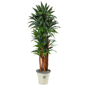 69 Dracaena Artificial Tree in Decorative Planter - SKU #T2171