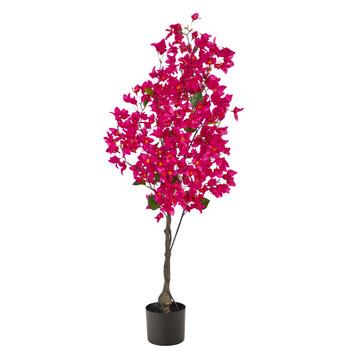 4 Bougainvillea Artificial Tree - SKU #T2398