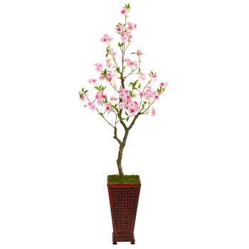 5 Cherry Blossom Artificial Tree in Decorative Planter - SKU #T2497