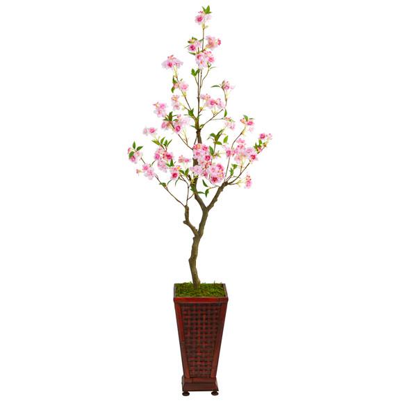 5 Cherry Blossom Artificial Tree in Decorative Planter - SKU #T2497