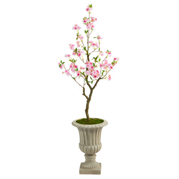 5 Cherry Blossom Artificial Tree in Sand Finished Urn - SKU #T2498