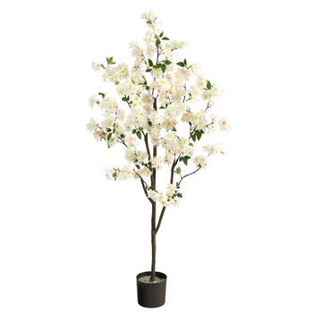 6 Cherry Blossom Artificial Tree - SKU #T2723-WH