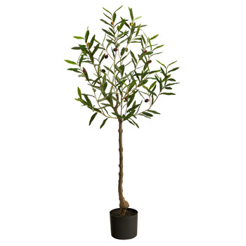 4 Olive Artificial Tree - SKU #T2724