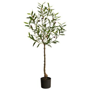 4 Olive Artificial Tree - SKU #T2724