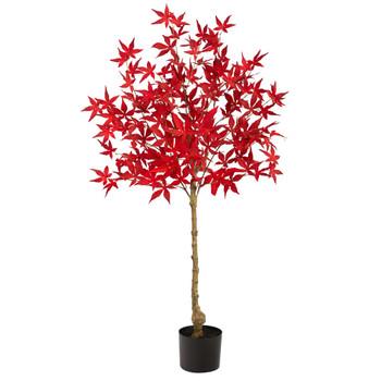 4 Autumn Maple Artificial Fall Tree - SKU #T2768