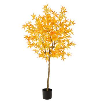 5 Autumn Maple Artificial Fall Tree - SKU #T2769