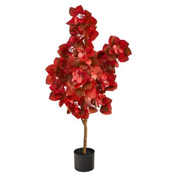 4 Autumn Pomegranate Artificial Tree - SKU #T2780