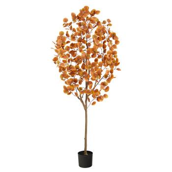 6 Autumn Eucalyptus Artificial Tree - SKU #T2783