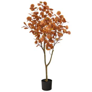 4 Autumn Eucalyptus Artificial Tree - SKU #T2784